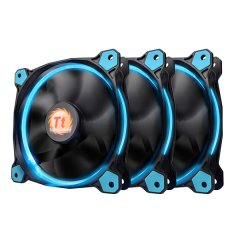 Thermaltake 120mm Riing 12 LED Blue (3 fan pack)