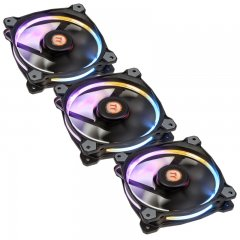 Thermaltake Riing 12 LED RGB 256 Colors Fan (3 fan pack)