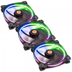 Thermlatake Riing 14 LED RGB 256 Colors Fan (3 Fan Pack)